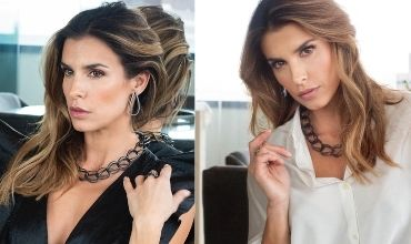 Elisabetta Canalis shines with Pianegonda Jewels
